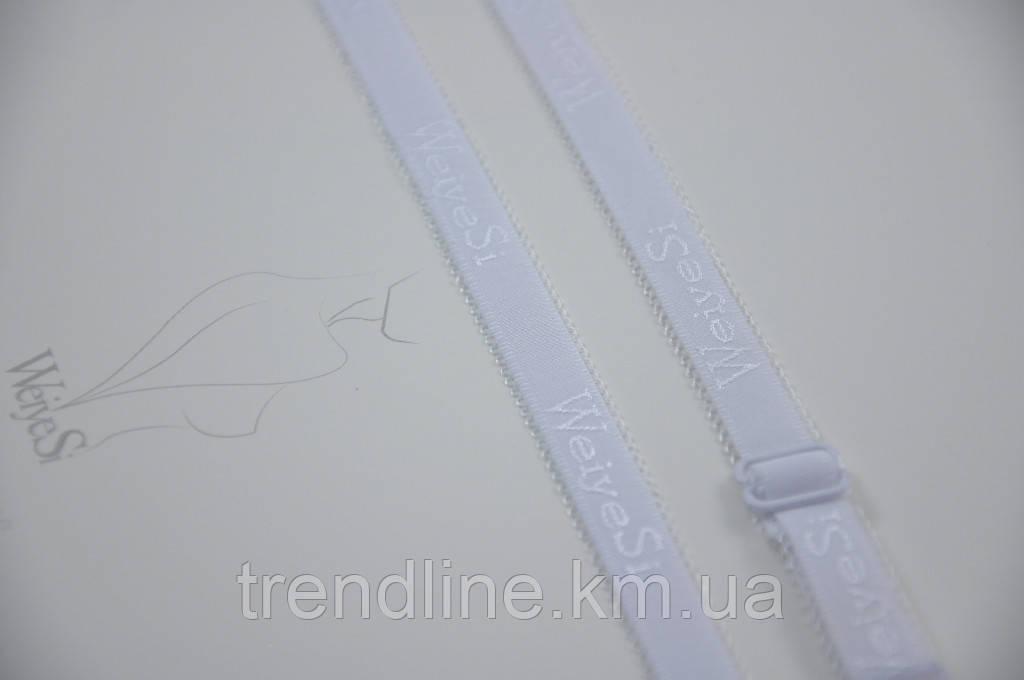 Бретелі WeiyeSi ширина - 12 мм Білий