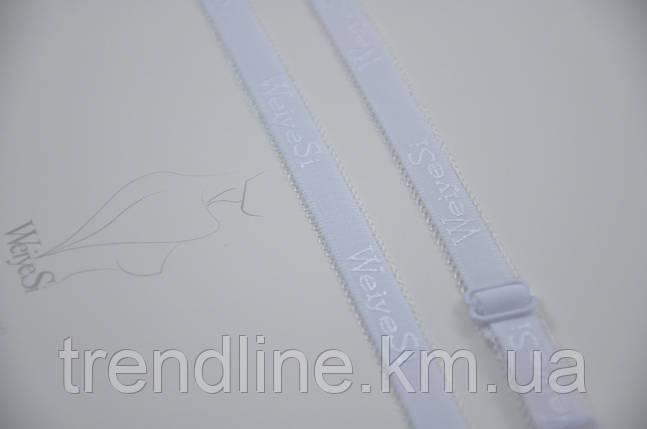 Бретелі WeiyeSi ширина - 12 мм Білий, фото 2