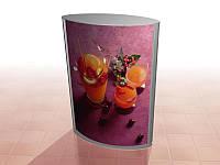 Лайтбокс (lightbox) підлоговий 650х725мм (Постер: Без постера; Колір ДСП: Алюміній;), фото 1