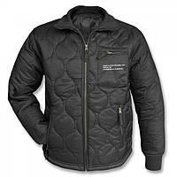 Куртка утеплитель Mil-Tec стеганая черная