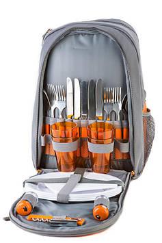 Рюкзак для пикника Green Camp на 4 персоны(р-р  42x31x21 см)