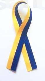 Стрічка жовто блакитна  Прапор України Патріот, фото 2