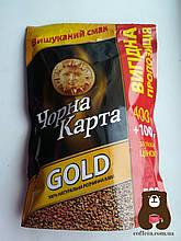 Кофе растворимый Черная карта Gold 500 г