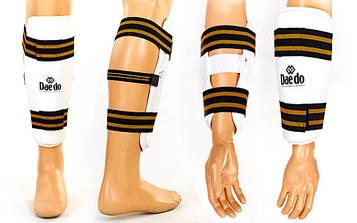 Захист гомілки й передпліччя для тхеквондо DADO (в наявності тільки р-ри L і XL, білий, набір 4 щитка)