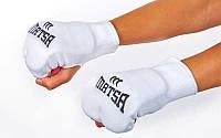 Накладки (перчатки) для каратэ MATSA (р-р XS-XL, белый)