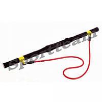 Палка гимнастическая для фитнеса с эсп. Gym Bar FI-930 (l-90см, пластик, неопрен, d эсп-11мм, l-125см)