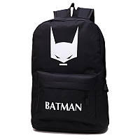 Стильный флуоресцентный черный рюкзак Batman, уценка