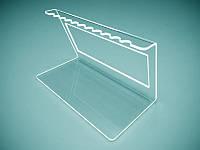 Подставка для браслетов 170х100 мм (Материал : Прозрачный акрил 1,8 мм; ), фото 1