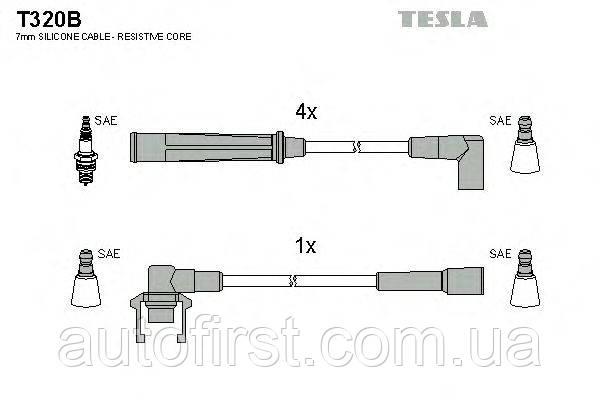 Высоковольтные провода Tesla T320B для автомобилей Renault