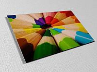 Пластиковая табличка на дверь с полноцветной печатью по размерам (Крепление: Двухсторонний скотч;  Способ нанесения : Полноцветная печать 1440 dpi;