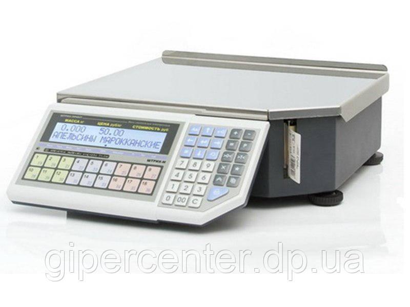 Весы фасовочные с печатью этикетки ШТРИХ-Принт Ф1 4.5 (2 Мб) до 15 кг