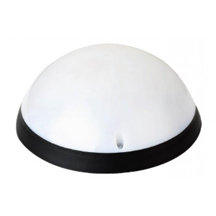 Светильник LED 12W c датчиком движения IP54 (черный, белый)