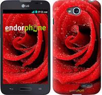 """Чехол на LG L90 Dual D410 Красная роза """"529u-202-5114"""""""