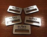 Бейджи с окошком для стажеров металлические (изготовление за 1 час на оболони) крепление магнит, булавка), фото 2