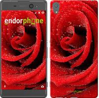 "Чехол на Sony Xperia XA Красная роза ""529c-399-5114"""