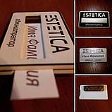 Бейджи с окошком для стажеров металлические (изготовление за 1 час на оболони) крепление магнит, булавка), фото 6