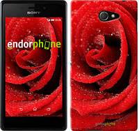 "Чехол на Sony Xperia M2 D2305 Красная роза ""529c-60-5114"""