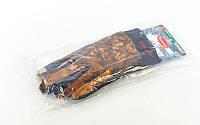 Перчатки теплые для рыбалки флисовые  (флис, PL, PVC, закр. пальцы, р-р L, камуфляж Realtree)