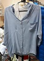 Женская рубашка + майка