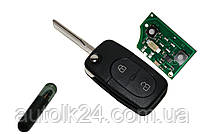 Выкидной ключ VW Golf 4, Бора, 1J0 959 753 A 433Mhz