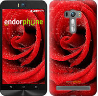 "Чехол на Asus ZenFone Selfie ZD551KL Красная роза ""529c-116-5114"""