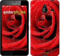 """Чехол на Microsoft Lumia 640 XL Красная роза """"529u-168-5114"""""""