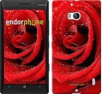 "Чехол на Nokia Lumia 930 Красная роза ""529u-311-5114"""