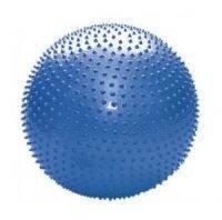 Мяч для фитнеса (фитбол) PS массажный 65см FI-078(65) (PVC, 1100г, цвета в ассортименте, ABS-система)