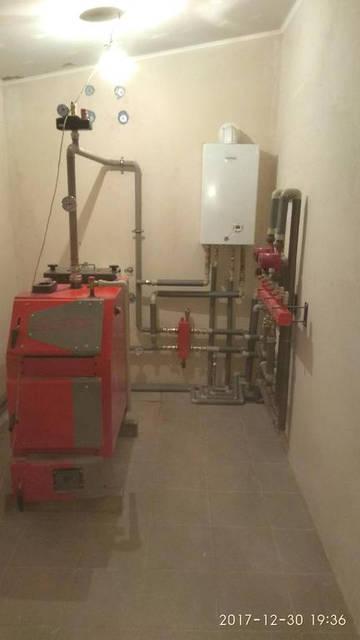 Альтеп ТRIO UNI PLUS (КТ-3EN) 20 кВт Газовым котлом NIBIR - MINORCA CTFS 24