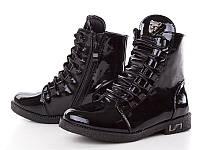Детская демисезонная обувь оптом. Весенние ботинки для девочек от ТМ. W.niko ( рр. с 31 по 37 ).