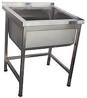 Мойка для кухни из нержавейки 1 секция ( 600х600х850 )
