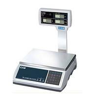 Электронные весы торговые CAS ER JR CBU б/у