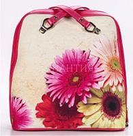 Рюкзак прямоугольный SM045-3 хризантема