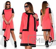 Платье с пиджаком на каждый день, р.48-50, 4744М