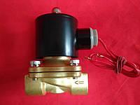 """Электромагнитный кран (клапан) усиленный 1/2"""" 220В нормально-закрытый"""