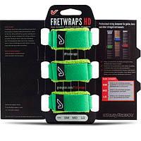 Gruv Gear FW-3PK-GRN-MD FretWraps 3-Pack Leaf Medium