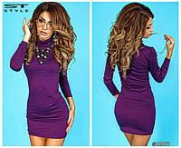 Платье гольф Модница стильная код 4