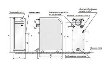Котел газовый ATEM Житомир 3 КС-Г-007 СН, фото 3