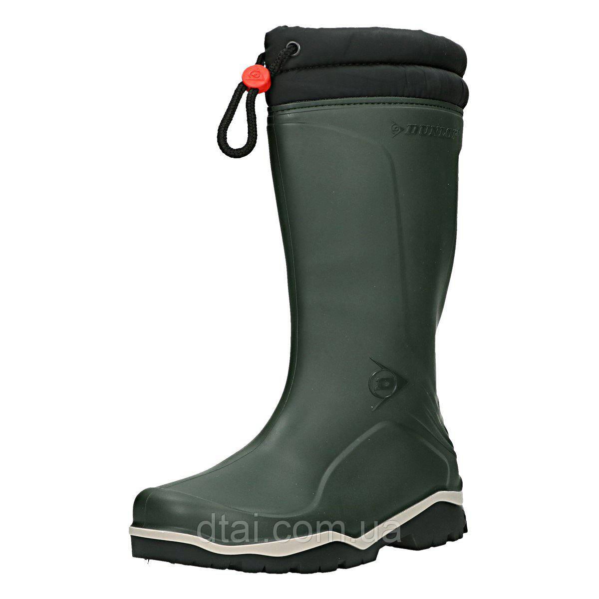88de00092 Зимние резиновые сапоги Dunlop® Blizzard с меховой вставкой для охоты и  рыбалки доставка по Украине