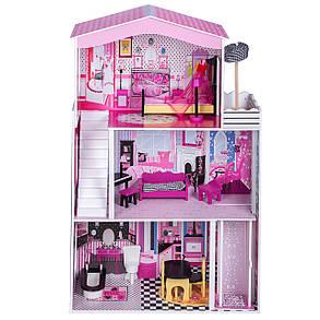 Игровой кукольный домик TD027 Miami + лифт, фото 2