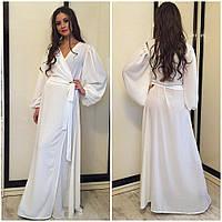991f9ba520e Длинный шифоновый красивый халат в пол на запах