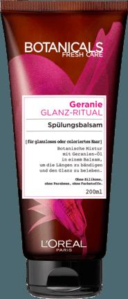 Бальзам - кондиционер для окрашенных волос L'Oréal Botanicals Fresh Care Geranie Glanz-Ritual, 200 ml.