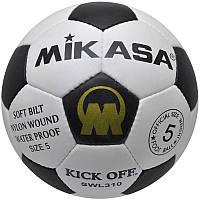 Мяч футбол Mikasa кожа