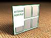 Информационный стенд на 4 кармана А4 и 1 карман А4 (под книгу) 750х680 мм (Состав: Без рамки;  Нанесение: Аппликация пленками ORACAL;)