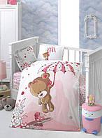 Комплект постельного белья в детскую кроватку Arya  Tonton
