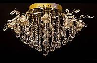 Галогеновая люстра со светодиодной подсветкой 9997/20 (хром,золото)