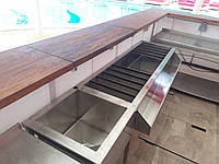 Станция бармена из нержавеющей стали 2000х500х850