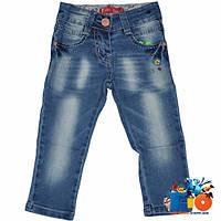 Детские джинсы (весна) для девочек 1-5 лет (5 ед в уп)