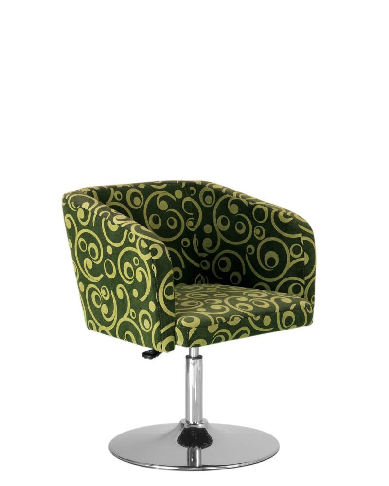 Кресло Хелоу 1S chrome новый стиль