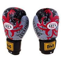 Бокс перчатки Let'sFight BWS (8-12 oz, FLEX)